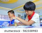 luannan county   september 25 ... | Shutterstock . vector #582338983