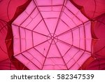red and ppink balloon texture...   Shutterstock . vector #582347539