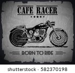 vector motorcycle inspirational ... | Shutterstock .eps vector #582370198