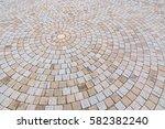 duotone yellow and gray brick... | Shutterstock . vector #582382240
