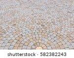 duotone yellow and gray brick... | Shutterstock . vector #582382243