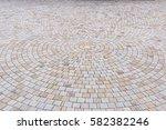 duotone yellow and gray brick... | Shutterstock . vector #582382246