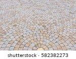 duotone yellow and gray brick... | Shutterstock . vector #582382273