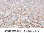 duotone yellow and gray brick... | Shutterstock . vector #582382279