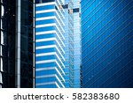 windows of commercial building... | Shutterstock . vector #582383680