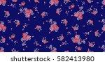 seamless pattern of violet....   Shutterstock .eps vector #582413980