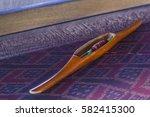 thai mini weaving equipment | Shutterstock . vector #582415300