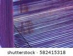 thai mini weaving equipment | Shutterstock . vector #582415318