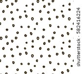 memphis doodle pattern with... | Shutterstock . vector #582416224