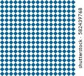 blue rhombus. white squares.... | Shutterstock .eps vector #582439768
