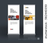 abstract business vector set of ... | Shutterstock .eps vector #582440350