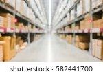blur background of department... | Shutterstock . vector #582441700