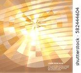 blur yellow gradient background ...   Shutterstock .eps vector #582444604