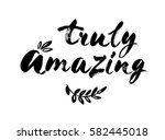 truly amazing elegant... | Shutterstock .eps vector #582445018