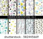 10 universal different... | Shutterstock .eps vector #582445669
