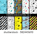 10 universal different... | Shutterstock .eps vector #582445693