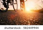 bike wheels close up image on... | Shutterstock . vector #582449944