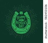 St. Patrick\'s Day. Retro Style...