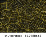 black and yellow vector city... | Shutterstock .eps vector #582458668