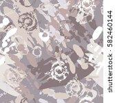 ink splatter seamless pattern. | Shutterstock .eps vector #582460144