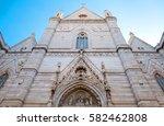 italy  naples  upward view of... | Shutterstock . vector #582462808