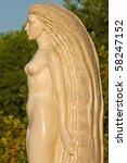 Sculpture Of Beautiful Girl  ...