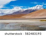 Multicolored Lagoons In The...