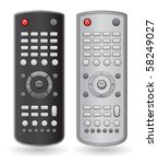 remote control | Shutterstock .eps vector #58249027