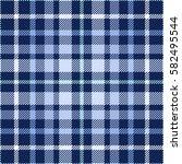 seamless tartan plaid pattern.... | Shutterstock .eps vector #582495544