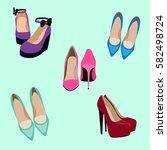 vector illustration of fashion...