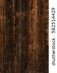 dark wooden boards backdrop | Shutterstock . vector #582514429