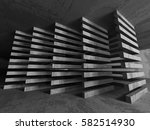 abstract concrete architecture... | Shutterstock . vector #582514930