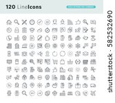 set of premium concept icons...
