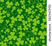 St. Patrick\'s Day. Seamless...