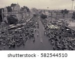 charminar  hyderabad  india... | Shutterstock . vector #582544510