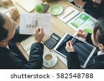 climate conference business... | Shutterstock . vector #582548788
