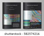 business templates for brochure ...   Shutterstock .eps vector #582574216