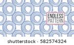 modern kids soft colored... | Shutterstock .eps vector #582574324