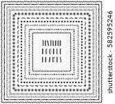 Black Grunge Textured Square...