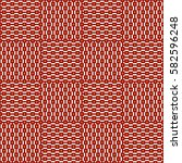 Red Color Seamless Pattern Wit...