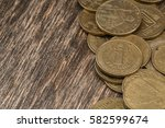Coins On The Background Of Old...