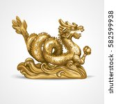 The Gold Dragon. The Symbol Of...