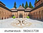july 1  2014 the alhambra ... | Shutterstock . vector #582611728