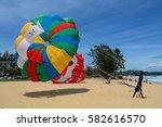 phuket  thailand   jun 19  2016.... | Shutterstock . vector #582616570