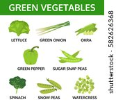 Green Vegetable Collection ...
