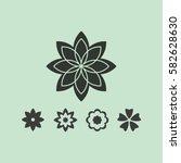 flower   Shutterstock .eps vector #582628630