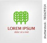 logos  emblems forest  park | Shutterstock .eps vector #582629314
