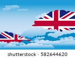 illustration of clouds  clouds... | Shutterstock .eps vector #582644620