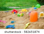 Various Toys Scattered In A...
