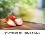 Fresh Strawberries On The Brow...